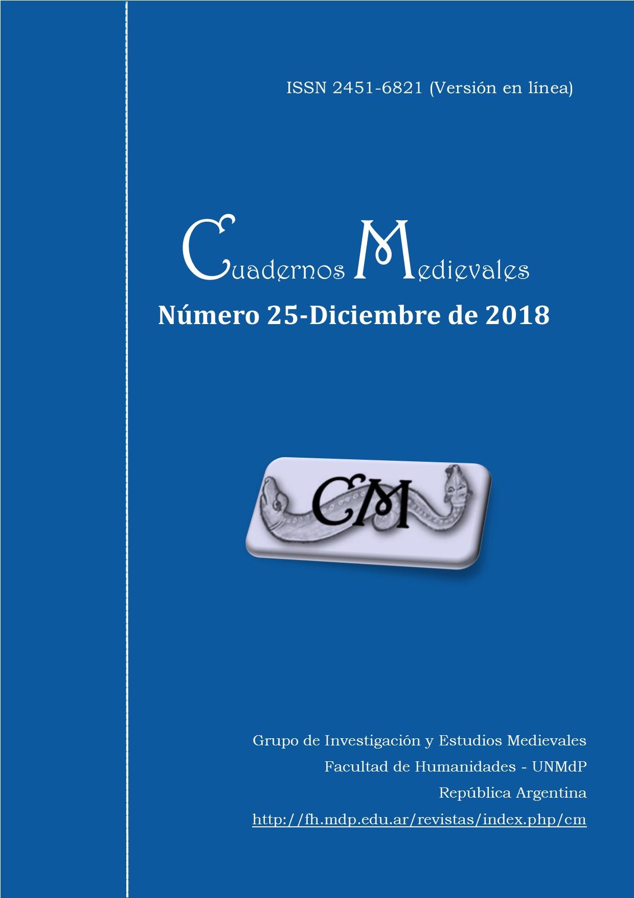 Cuadernos Medievales 25 - Diciembre 2018