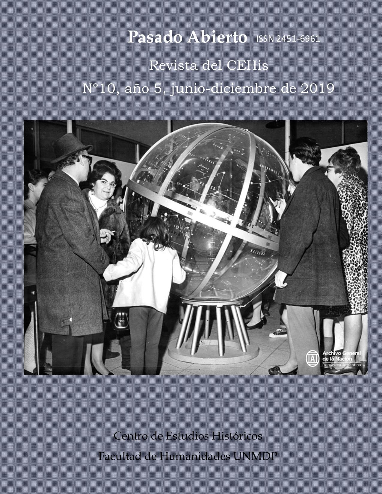 PASADO ABIERTO, año 5, Nº 10. Junio-diciembre de 2019