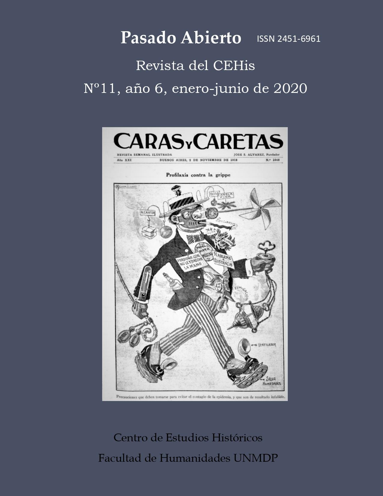 Imagen de portada: Caras y Caretas, 1918. Agradecemos a Adriana Álvarez