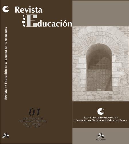 Revista de Educación - Año 1 - Nro. 1